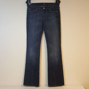 7 For All Mankind Women's Jeans 32x33 Bootcut